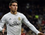 James Rodríguez entra en una nueva convocatoria del Real Madrid. FOTO AFP
