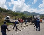 Tágico accidente en la Ruta del Sol