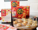 Las galletas Ritz fueron introducidas al mercado en 1934 por Nabisco. Actualmente son hechas por Mondelez International. FOTO AFP