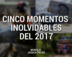 Cinco fotografías memorables del 2017