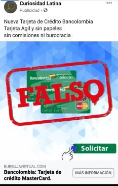 Bancolombia, EL COLOMBIANO -y su club de suscriptores Intelecto- desmienten esta publicidad.