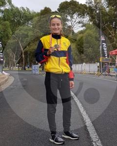 Olímpicos de Tokio-2020: la marchista Lorena Arenas es la primera colombiana clasificada