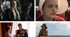 Game of thrones, The handmaid's tale, The Crown y Godless fueron algunas de las series ganadoras de la noche. FOTOS Cortesía HBO, Netflix y Paramount Channel.