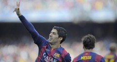 Luis Suárez sigue intratable con el Barcelona. FOTO AP