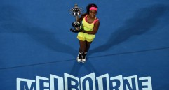 Serena Williams venció en dos sets a la rusa Maria Sharapova. FOTO AFP