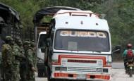 El paro armado en Chocó se inició a las 12:00 de este martes. FOTO COLPRENSA
