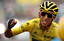 Egan Bernal virtual campeón del Tour de Francia