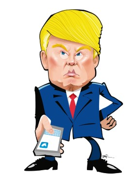 El arsenal de Trump en Twitter