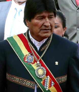 """El presidente Morales pidió este jueves un """"castigo ejemplar"""" para los militares que tenían la responsabilidad de custodiar la medalla, considerada una joya única en América por historiadores."""