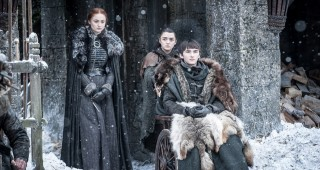 La familia Stark en la primera temporada de Game of Thrones. FOTO: Cortesía HBO.