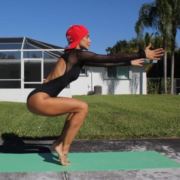 Yudy Arias, la tía de Maluma, instructora de yoga