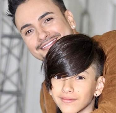 Nacho Acero celebrará con su hijo este domingo. FOTO Cortesía