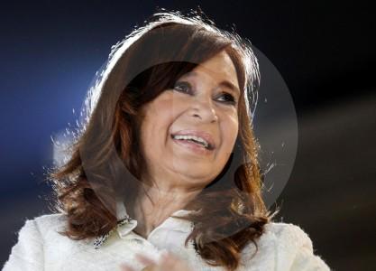 La expresidenta de Argentina, Cristina Fernández en juicio por corrupción