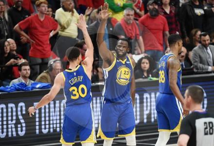 Los Warriors, en su quinta final consecutiva en la NBA