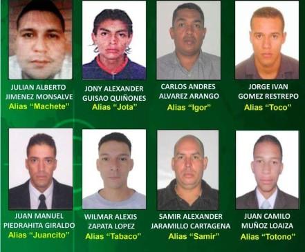 Estos son los ocho más buscados de la Comuna 13