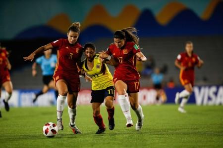 Colombia empata con España en el Mundial Sub-17 femenino