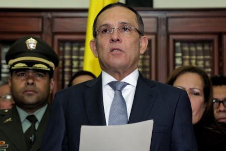 Presidente del Senado Efraín Cepeda asegura que el proyecto que crea circunscripciones de paz no se aprobó