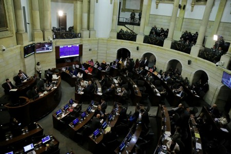 Posesión del Senado de la República para el periodo 2018 - 2022