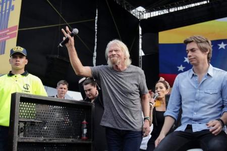 """Venezuela Aid Live: """"Vamos a construir puentes de esperanza"""": Richard Branson"""