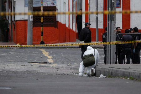 Bogotá: explosión en Engativá