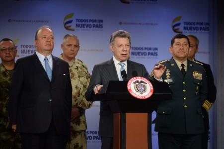 Santos dice que disidencias de Farc son objetivo de alto valor