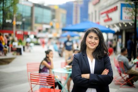 <p>La colombiana que llegó </p><p>al Senado de Nueva York</p>