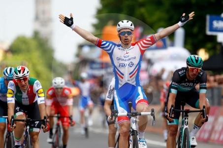 Arnaud Démare ganó décima etapa del Giro de Italia