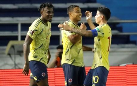 Eliminatorias Qatar 2022. Colombia 3 – Venezuela 0. Brasil 5-0 Bolívia