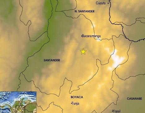 Fuerte temblor sacudió varias ciudades de Colombia