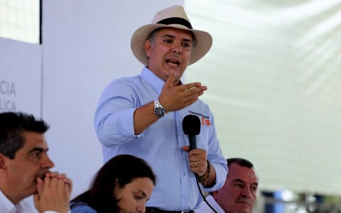 Iván Duque invita a buscar mecanismos más diplomáticos para la crisis migratoria de Venezuela