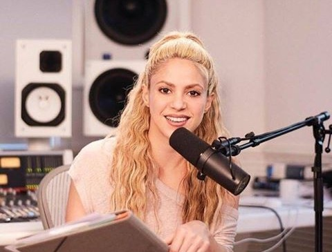Shakira arma un mini concierto en un parque de Nueva York