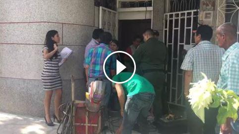 Personero de Puerto Berrío es acusado de golpear a su mamá