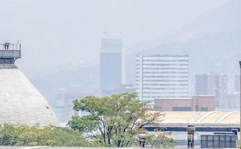 Calidad del aire en Medellín por contaminación