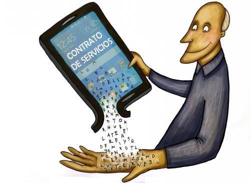 Contratos de operadores móviles ya no podrán usar letra pequeña
