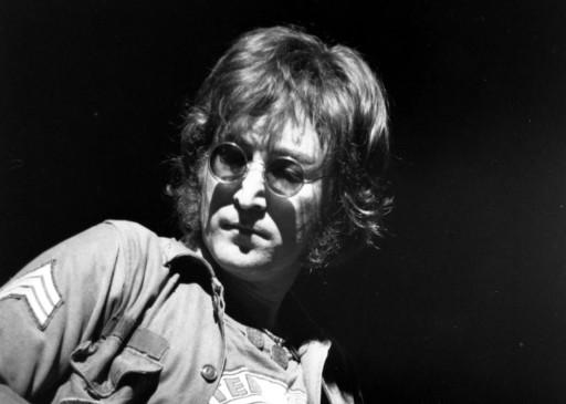 John Lennon en una presentación en New York en el Madison Square Garden en agosto de 1972. FOTO: AP/archivo