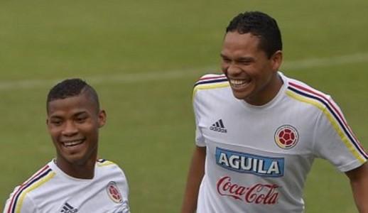Los colombianos Carlos Bacca y Wilmar Barrios se enfrentarán en los octavos de la Europa League
