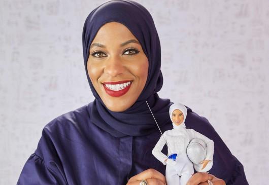 Barbie se pone el hiyab para honrar a atleta olímpica