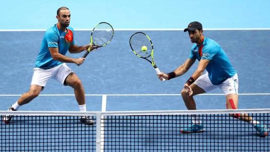 Juan Sebastián Cabal y Robert Farah perdieron en la semifinal del torneo de Maestros
