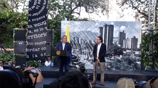 Duque estará este viernes en Medellín para implosión del Mónaco