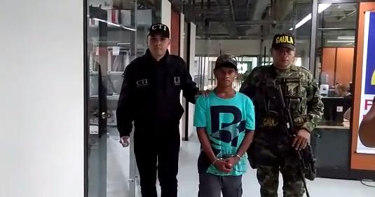 Capturado alias Pequeño, cabecilla del ELN en el bajo Cauca