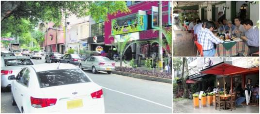 Avenida jard n y pavezgo abren oferta gastron mica del aburr for Calle el jardin