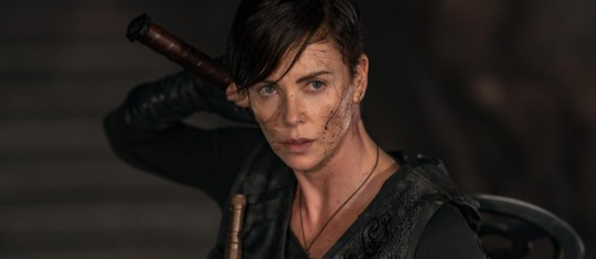 Charlize Theron es Andy, la heroína de The Old Guard. FOTO Cortesía Netflix