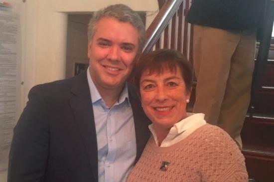 Claudia Ortiz ha sido líder regional del Centro Democrático y participó en la campaña de Iván Duque a la presidencia. Foto tomada de Twitter