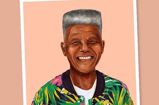 Nelson Mandela FOTO cortesía Amit Shimoni