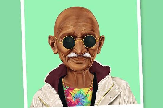Mahatma Ghandi FOTO cortesía Amit Shimoni