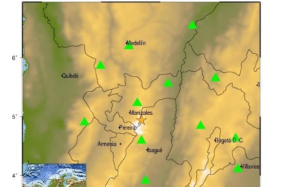Nevado del Ruiz generó alerta en Tolima y Caldas