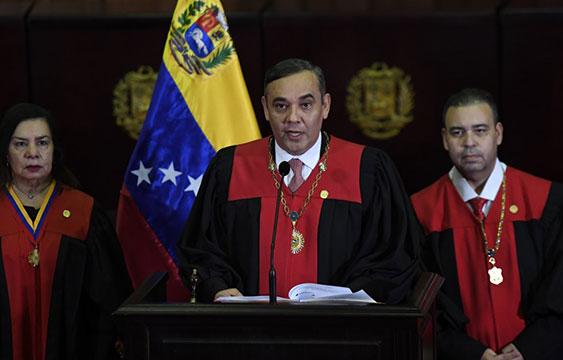 Ofrece recompensa de $5 millones por el presidente del TSJ de Venezuela