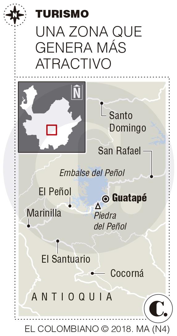Operativos contra alojamientos informales en casas de Guatapé