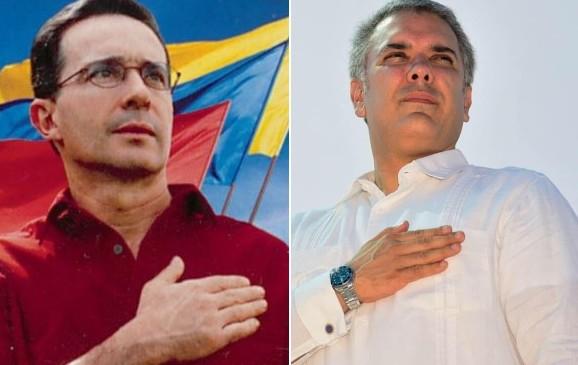 Duque, copiando la campaña Mano firme, corazón grande de Uribe?