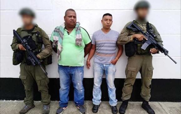 Policía capturó a dos miembros del 'Clan del Golfo'